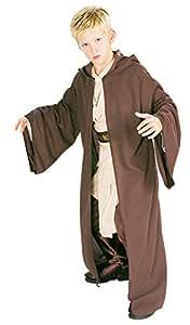 Jedi Robe - Deluxe - Star Wars - Enfants Costume de déguisement - Petit - 117cm