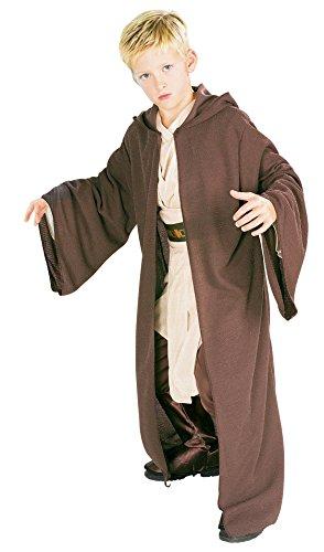 Star Wars Deluxe Jedi Robe Jungen Kostüm Zubehör - Jedi Robe Kinder Kostüm