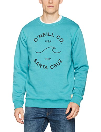 O'Neill Herren Sunrise Sweatshirts Grün-Blue Slate