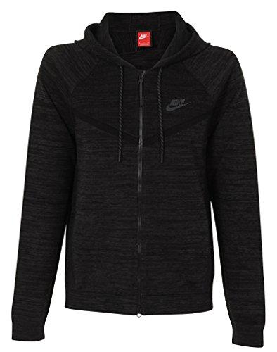 Tech Knit Nike Windrunner Veste pour femme Negro / Gris (BLACK/ANTHRACITE)