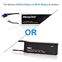 morpilot For Hubsan X4 H501, Battery Lipo 7.4V 2700mAh 10C 20Wh High Performance Extra Flight Time for Hubsan X4 H501A H501C H501S Original Spare Batteries