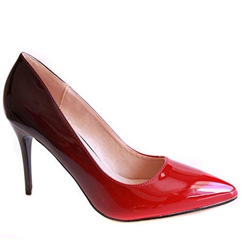 no-name-zapatos-de-vestir-para-mujer-rojo-rojo-39