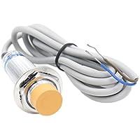 heschen Sensor de proximidad inductivos interruptor LJ18A3–8-J/EZ detector 8mm 90–250VAC 400mA NO Normalmente Abierto (alambre de) 2