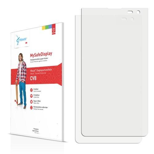 Vikuiti 2x Displayschutzfolie CV8 von 3M für LG Electronics VS840 Lucid 4G Schutzfolie Folie