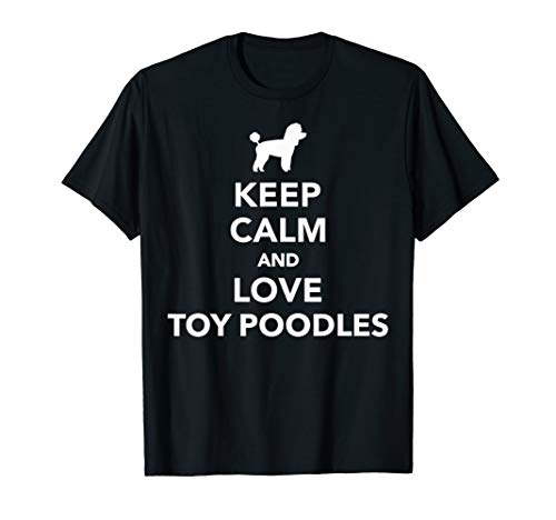 Keep calm Toy Pudel T-Shirt -