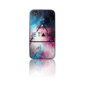 Coque iPhone 4/4S-JE T'AIME