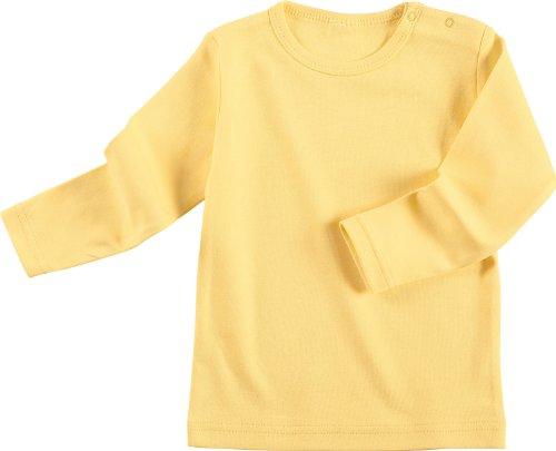 Baby Butt Langarmshirt Interlock-Jersey gelb Größe 44