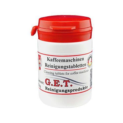 GET Reinigungstabletten für Kaffeevollautomaten und Espressomaschinen 2,0g (30)