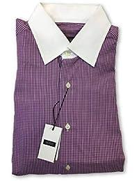 Mirto Shirt in Purple 15.5 RRP £99.00