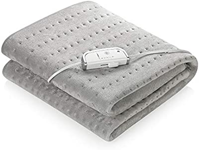 Medisana HU 670 - Calefacción de manta, 150 x 80 cm, desconexión automática y protección contra sobrecalentamiento, 4 ajustes de temperatura, lavable