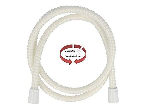 tecuro Kunststoff-Brauseschlauch weiß 2,00 m (RAL 9016)