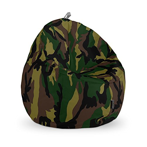 HAPPERS Puff Junior Estampado Camuflaje Verde