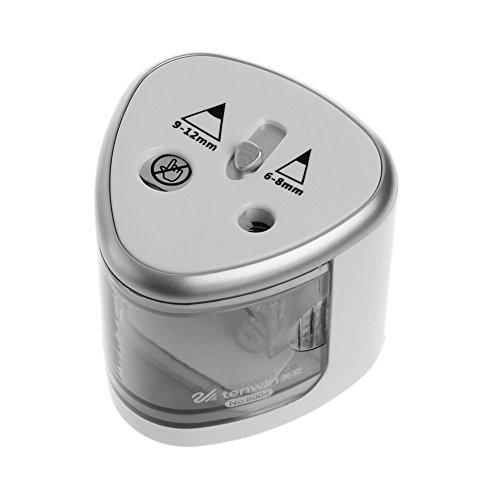 Sacapuntas eléctrico automático de dos agujeros