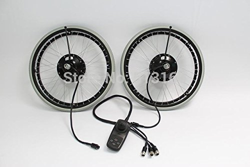 """Heißer 24V 180W 24\""""schwanzlose elektrische Rollstuhl-Umwandlungs-Ausrüstungen mit der elektrischen Magnet-Bremse"""