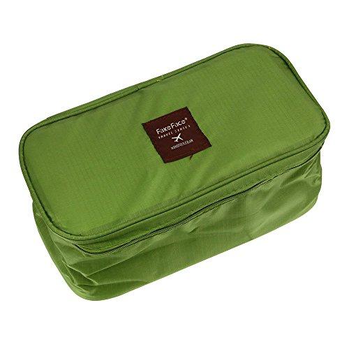PTCM - Organizador para maletas , verde (Marrón) - QB-190
