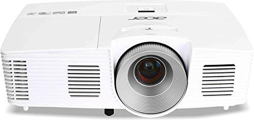 Acer H6520BD 3D Full HD DLP-Projektor (3D-fähig direkt über HDMI 1.4a, 144Hz Triple Flash 3D, Kontrast 10.000:1, 3.500 ANSI Lumen, Full HD 1920 x1080 Pixe, MHL ) weiß