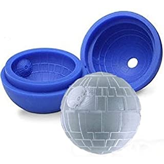 Party Game, Star Wars Death Star 5.5 cm, Ice, Chocolate Silicone Mold by ARTUROLUDWIG