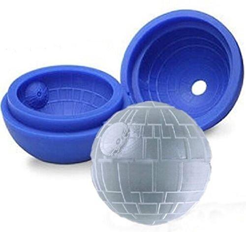 STAR WARS: Molde de silicona para Cubitos de hielo, Jabón, Chocolate, para los amantes de Star Wars by RIVENBERT