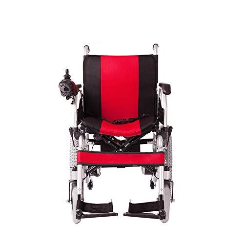 41DwwAiUe7L - WJUAN Silla De Ruedas Eléctrica Ancianos Discapacitados Scooter Inteligente Completamente Automático Ligero Plegable Vehículo Eléctrico De Cuatro Ruedas