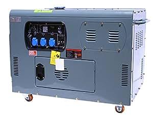 BC-ELEC - 94002 - générateur 10kva 380/400v, refroidissement liquide