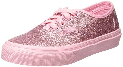Vans Authentic, Scarpe da Ginnastica Basse Unisex - Bambini, Rosa (Shimmer Bright Pink), 35 EU