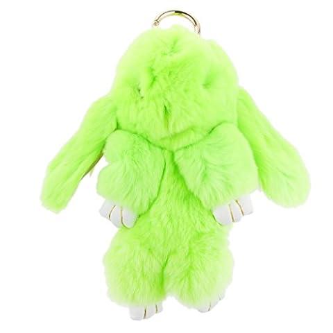 Kleine Hase Anhänger Plüsch Fahrzeugschlüssel Handtaschenanhänger Schlüsselanhänger Anhänger - Grün,