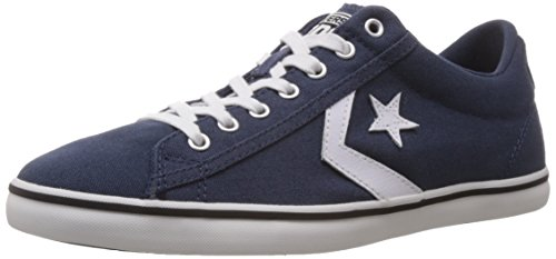 Converse International Unisex Navy Canvas Sneakers - 8 UK