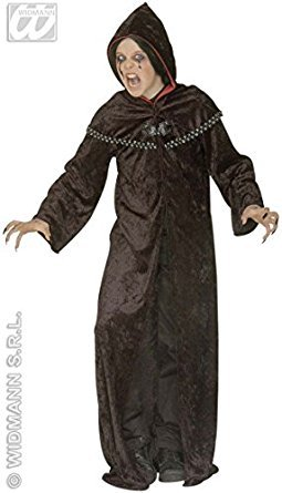 Kostüme Fancy Dress Knight (Children's Dark Templar Robe Costume Medium 8-10 yrs (140cm) for Medieval Knight Fancy)