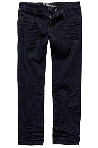 JP 1880 Herren große Größen bis 66 | Denim Jeans | 5-Pocket Hose | Stretch-Komfort | Gürtelschlaufen & Knopf mit Zipper | Loose Fit | darkblue 26 708392 93-26