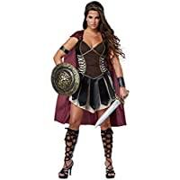 Women Halloween Pirate Fancy Dress Adult Medieval Roman Warrior Costume Outfit
