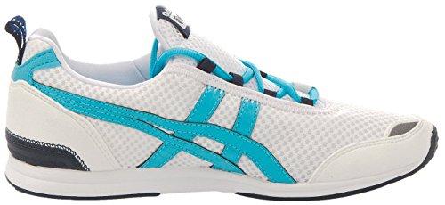 Onitsuka Tiger Ult-Racer, Sneaker Donna Bianco/Azzurro
