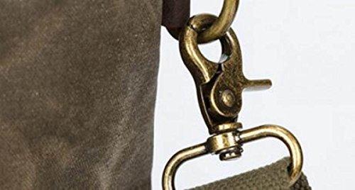 FZHLY Wasserdichte Segeltuch-Handtasche Männer Und Frauen-Multifunktionsschulter-Umhängetasche Blue