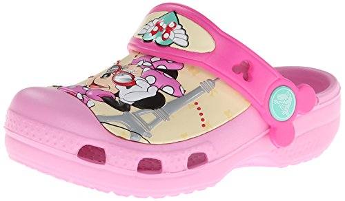 Crocs CC Minnie Jet Set Clog, Mädchen Clogs, Pink (Carnation 6I2), 29/31 EU