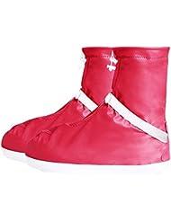 Housse de chaussure à la mode en caoutchouc en plastique