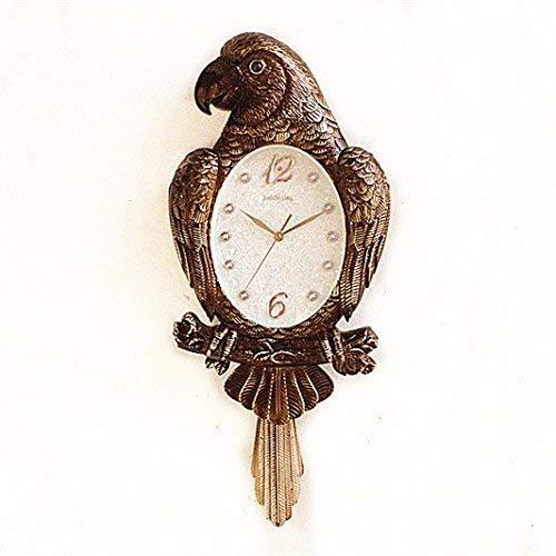 Deluxe-zifferblatt-skala (YHEGV Quiet Lounge Wanduhr, die Schaffung der europäischen Kunst des Uhrenmodus Quarz, Wand des Deluxe-Zimmers, Uhren, Schaukel 16 Zoll, eine Wanduhr)