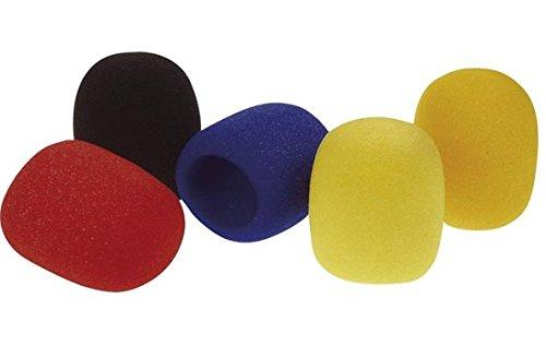 hq-power-micwcs-almohadilla-para-microfono-5-unidades-multicolor