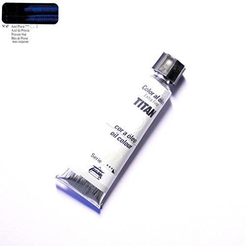 ÓLEO AZUL PRUSIA TITAN Extrafino 6 - 20ml. Nº 47