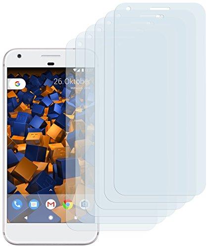 mumbi Schutzfolie kompatibel mit Google Pixel Folie klar, Bildschirmschutzfolie (6x)