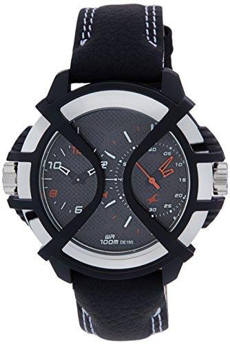 41Dx37tBktL - 38016PL01J Fastrack Multi Color Mens watch
