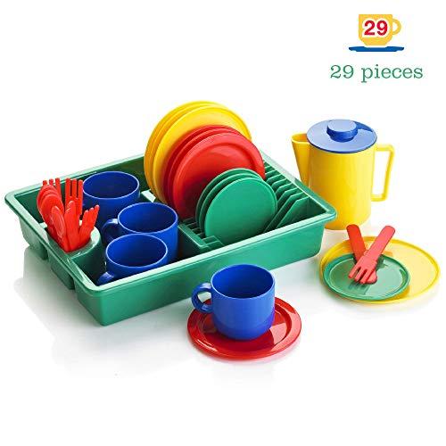 KiddyPlay Servizio stoviglie per Bambini 29 Pezzi