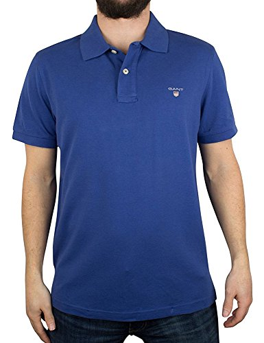 GANT Men's Polo Blue in Size XXXX-Large -