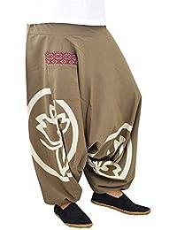 virblatt Sarouel Jogging Pantalon Ethnique Pantalon Yoga Femme – Besonders ea329b23b2f