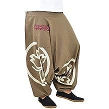 virblatt Pantalones Bombacho Mujer Yoga cagados como pantalón Chandal árabe  - Besonders 838b16ed036