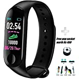 FRIDAY M3 Bluetooth Health Wrist Smart Band with Activity Tracker/Fitness Watch for Women/Fitness Watch for Men/Health Watch/Health Band/Health Band & Activity Tracker/Wrist Smart Band/Heartbeat Watch