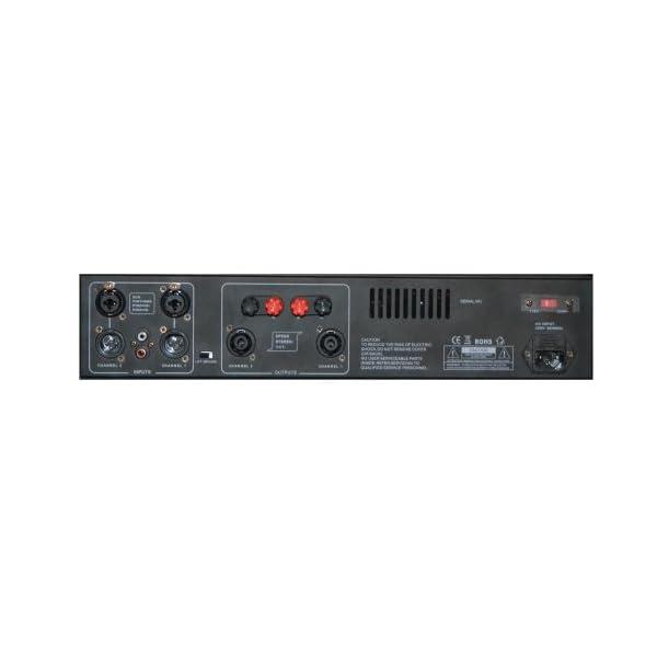 Mac Mah ECX300 - 2 amplificatori da 300 W 4 Ohm, in alluminio