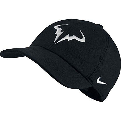 Nike RAFA U NK AROBILL H86 Cap Hat, schwarz, One Size (Nadal Nike)