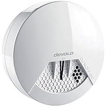 devolo Home Control Funk Rauchmelder (Funk Brandmelder, vernetzt, Z-Wave Hausautomation, Haussteuerung per iOS/Android App, Smart Home Sensor, einfache Anbringung) weiß