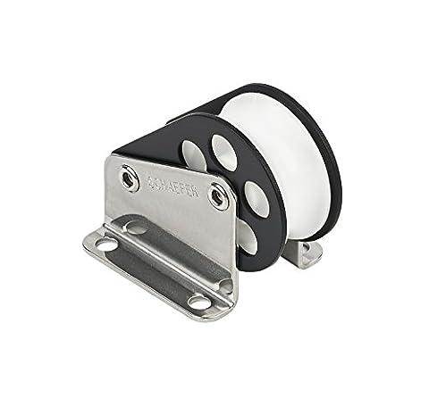 Schaefer 3 Series Halyard Lift Block Aluminum Cheeks with Stainless