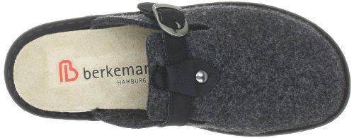 Berkemann Dominique, Pantoffel Grau (dunkelgrau 937)