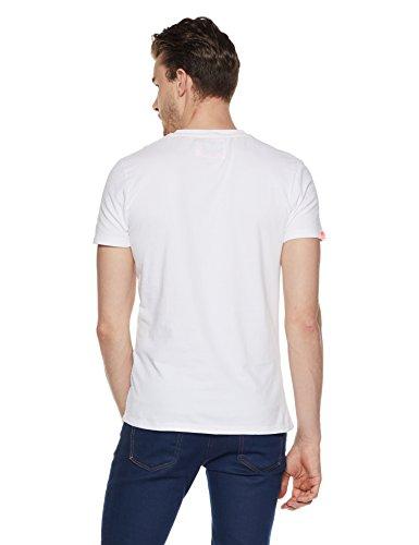 Superdry Herren T-Shirt Bianco (Optic)